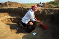раскопки на Филипповском курганном могильнике  Приуральская археологическая экспедиция